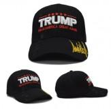 TRUMP MAKE AMERICA GREAT AGAIN  CAP - BLACK - NEW
