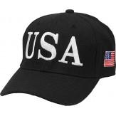 USA 45  CAP - BLACK - NEW