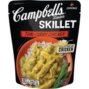 Campbells Skillet Sauce Thai Curry Chicken 311.8g |