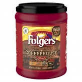 Folgers Coffee House Roast Ground Medium Dark Roast Coffee - 306g