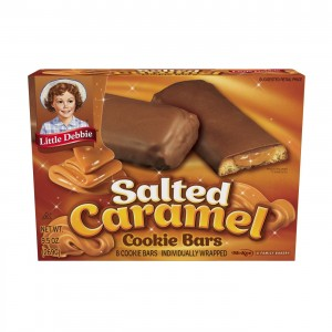 Little Debbie Salted Caramel Cookie Bars - 34g  