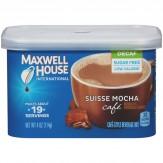 Maxwell House International Café Suisse Mocha Beverage Mix - Decaf 114g