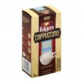 Folgers Cappuccino French Vanilla Beverage Mix Instant Coffee - 4ct