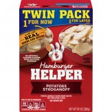 Hamburger Helper Potatoes Stroganoff 286g (Twin Pack)