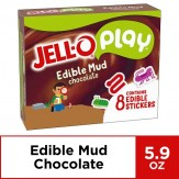 JELL-O Play Edible Mud Chocolate Pudding 167g Box