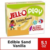 JELL-O Play Edible Sand Vanilla Pudding 144g Box