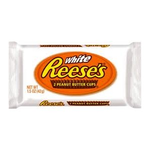 Reese's White Choc Peanut Butter Cups 42g  |