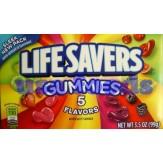 Lifesavers 5 Flavour Gummies 99g