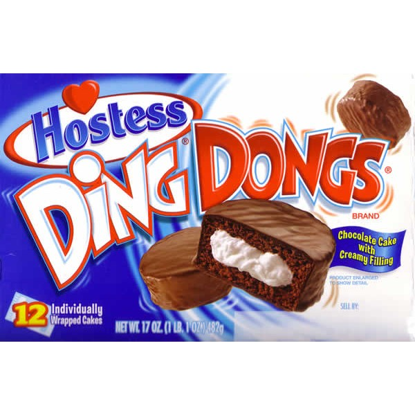 Ding Dongs Individually Wrapped Usa Foods